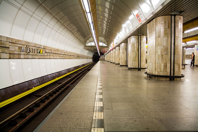 stanice metra v Praze