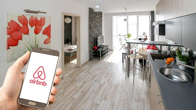 služba Airbnb